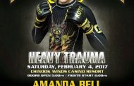 Amanda Bell taking on Gabrielle Holloway at King of the Cage Feb 4th