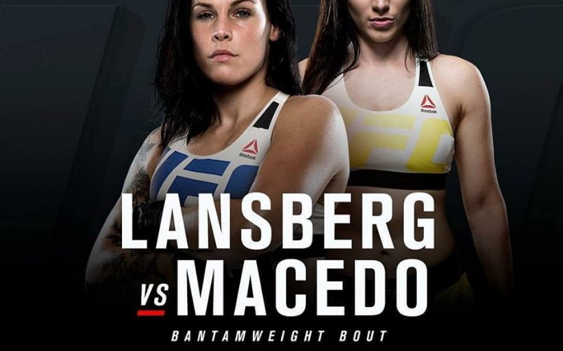 Lina Lansberg vs. Veronica Macedo added to UFC London for March 18