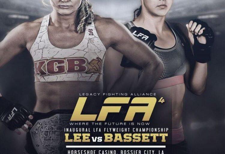 Andrea K Lee to Defend LFA Title against Heather Bassett Feb 17th