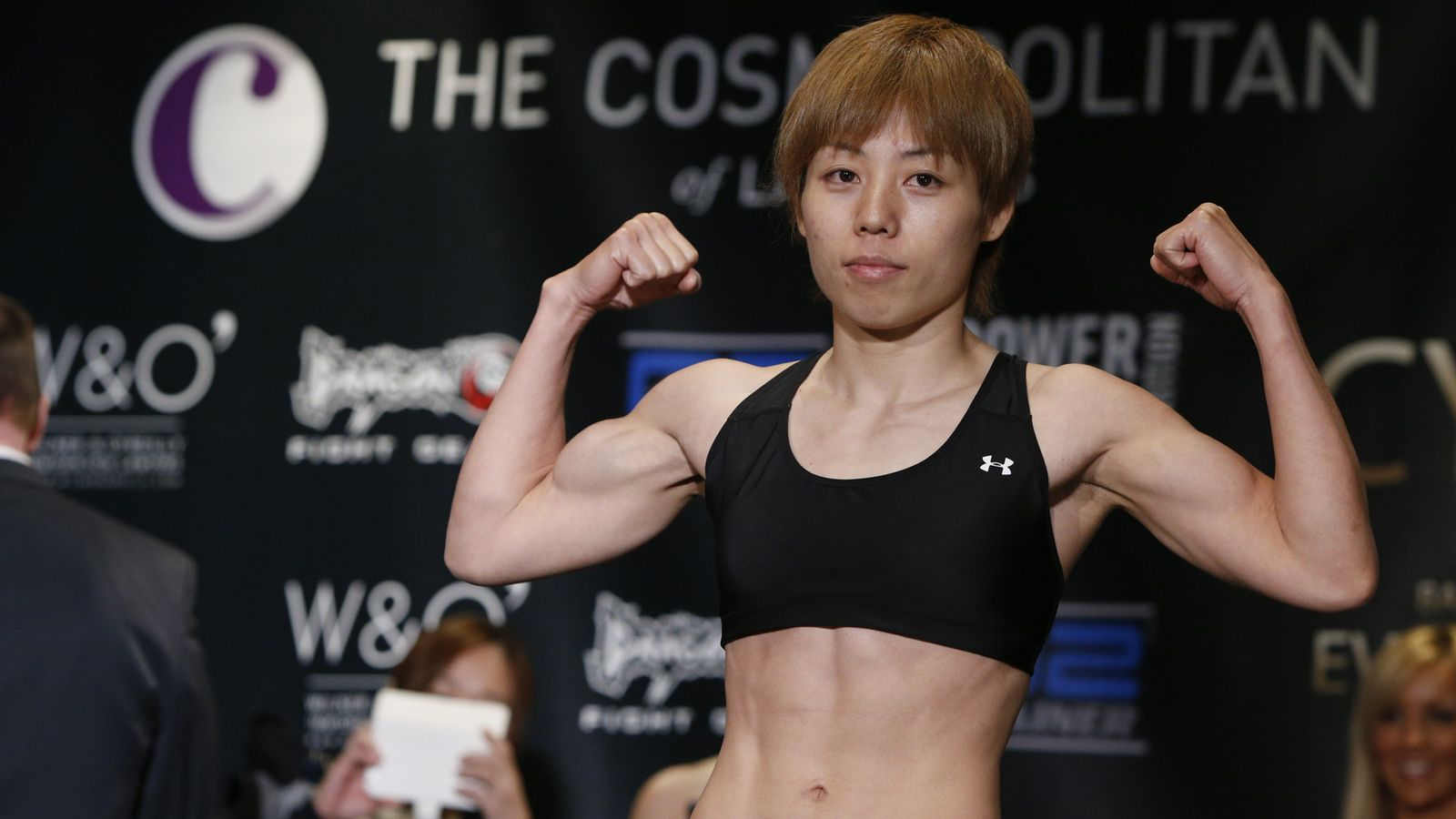 Invicta atomweight champ Ayaka Hamasaki moves up to strawweight to face Livia Renata Souza