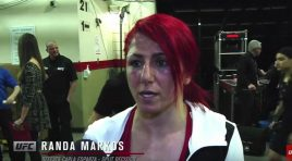 Fight Night Halifax: Randa Markos Backstage Interview