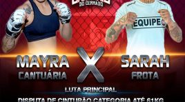 Mayra Cantuária vs Sarah Frota For The Bantamweight Title at Samurai 2