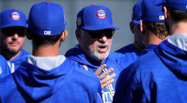 Maddon not interested in flashing Series bling