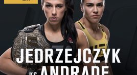 Joanna Jedrzejczyk vs Jessica Andrade Official For UFC 211
