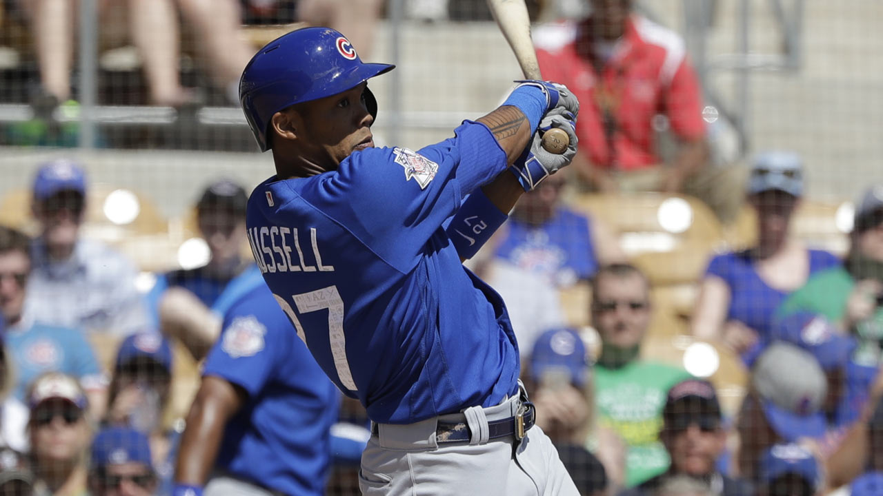 Russell launches fifth spring homer