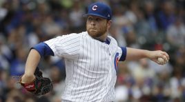 Anderson wins spot in Cubs' rotation