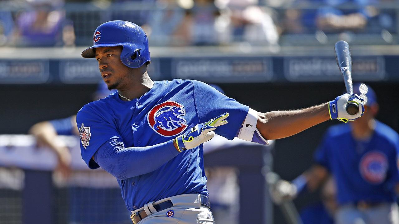 Cubs prospect Jimenez shelved for 3 weeks