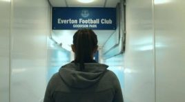 Molly McCann and her love for Everton FC