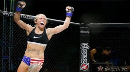 """ICYMI: """".50 Kal"""" Kalyn Holliday: I want Invicta to trust I'm a reliable and available fighter"""