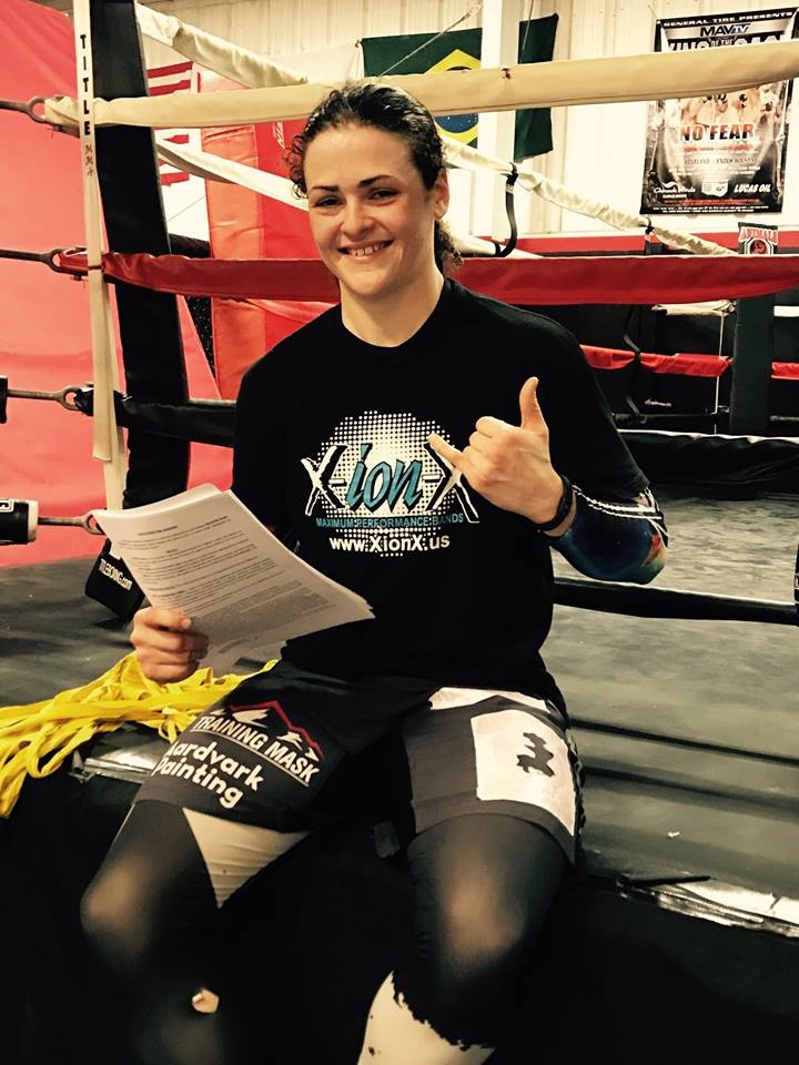 Amanda Bell will be joining the Women's Featherweight division at Bellator