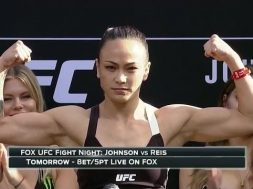 Namajunas vs Waterson Weigh-in