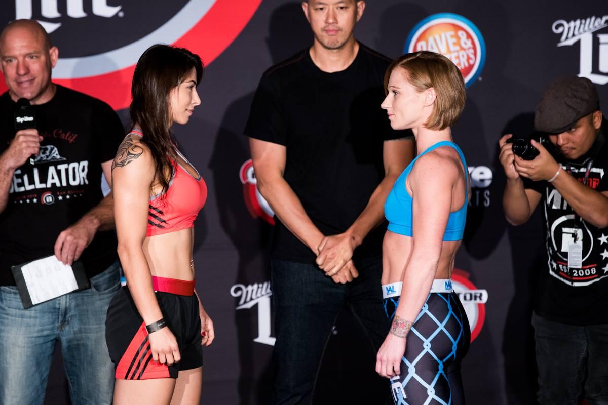 Katy Collins (124.2) vs. Bruna Vargas (125)