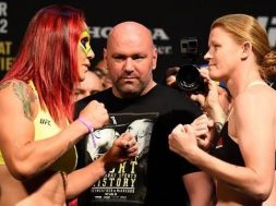 Cris Cyborg vs Tonya Evinger Weigh-In