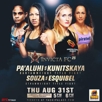 ICYMI: Two Changes to Invicta FC 25 Card