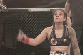 Invicta FC 25 Livia Renata Souza Post-Fight Interview