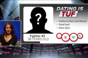 Karyn Bryant and Michael Bisping help DeAnna Bennett find an eligible bachelor