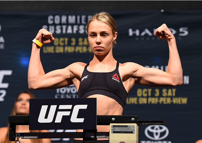 ICYMI: Rose Namajunas going for the title against Joanna Jedrzejczyk at UFC 217